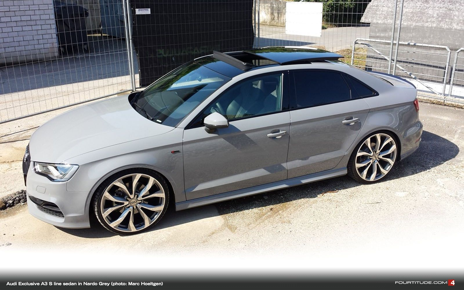 Audi Exclusive Nardo Grey A3 S line Sedan. Be Jealous. Be ...