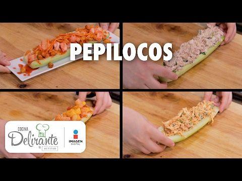 Aprende a preparar estos pepinos rellenos y disfruta de una comida saludable.
