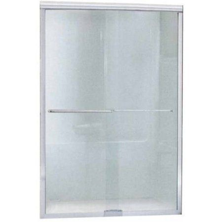 Sterling 5365EZ-45N Finesse 44 inch-45.5 inchW x 65.5 inchH Sliding Shower Door, Available in Various Colors, Silver