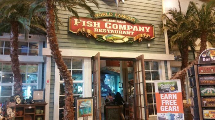 Islamorada Fish Company is a chain of seafood restaurants