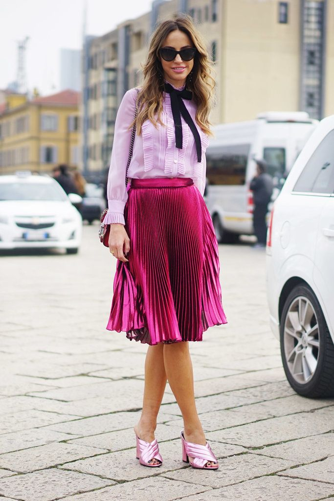 Amped-Up Feminine Separates in Varying Shades of Pink
