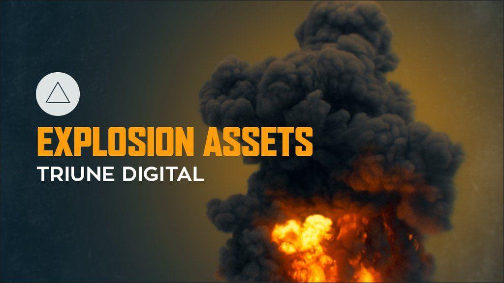 Triune Digital Explosion Assets Explosion Digital Asset