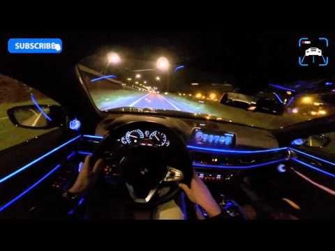 Bmw 750i M Sport Night Drive Interior Lighting P B Bmw I8