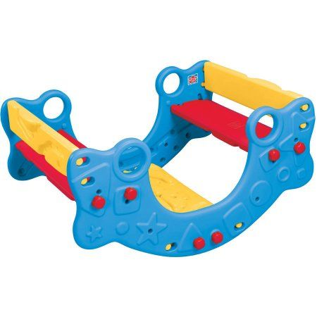 3-in-1 Climber, Rocker and Bench, Multicolor
