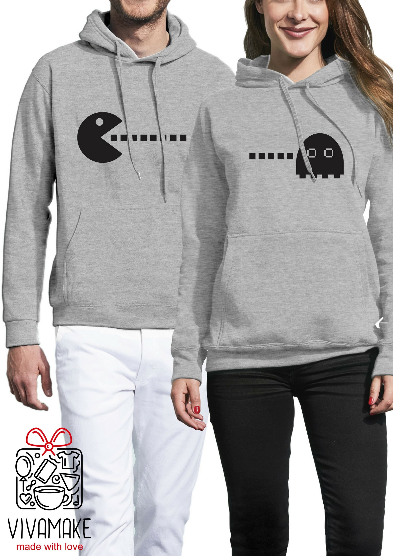 68719d9d pärchen hoodies / couple sweatshirts/ his and hers hoodies / bear couple  hooded sweatshirts / couples matching set / mr and mrs