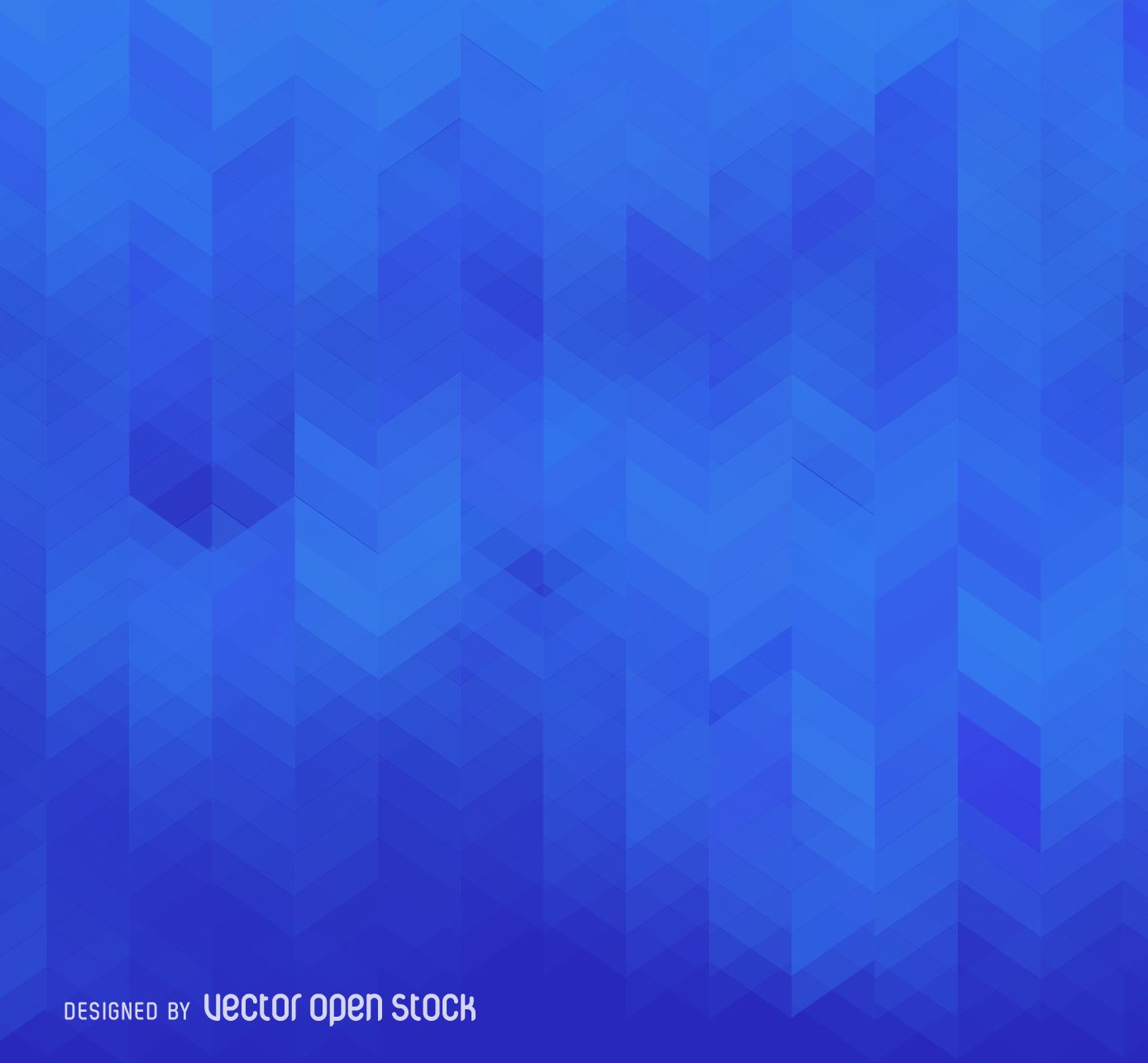 Abstract Background Design In Tones Of Blue Backdrop Made From