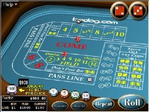 Martingale system for roulette