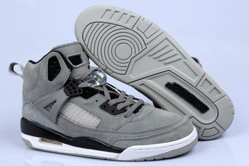 check out 8ae9f 60924 Jordans Spizike Fluff Cool Grey Black Nike Womens Size Shoes