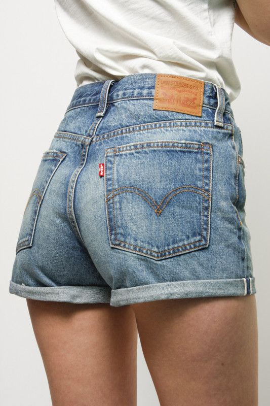 LEVI'S WEDGIE FIT SHORTS | WHAT'S IN STORE | Pinterest | Shorts ...