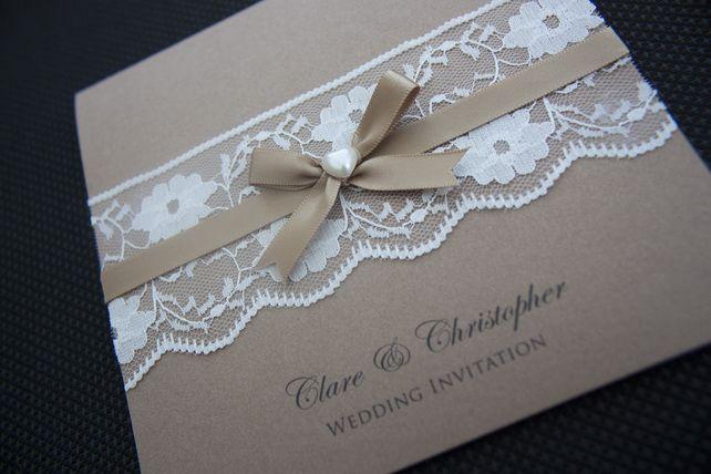 Vintage Lace Wedding Invitation Inviti Matrimonio Vintage Matrimoni In Pizzo D Epoca Inviti In Pizzo