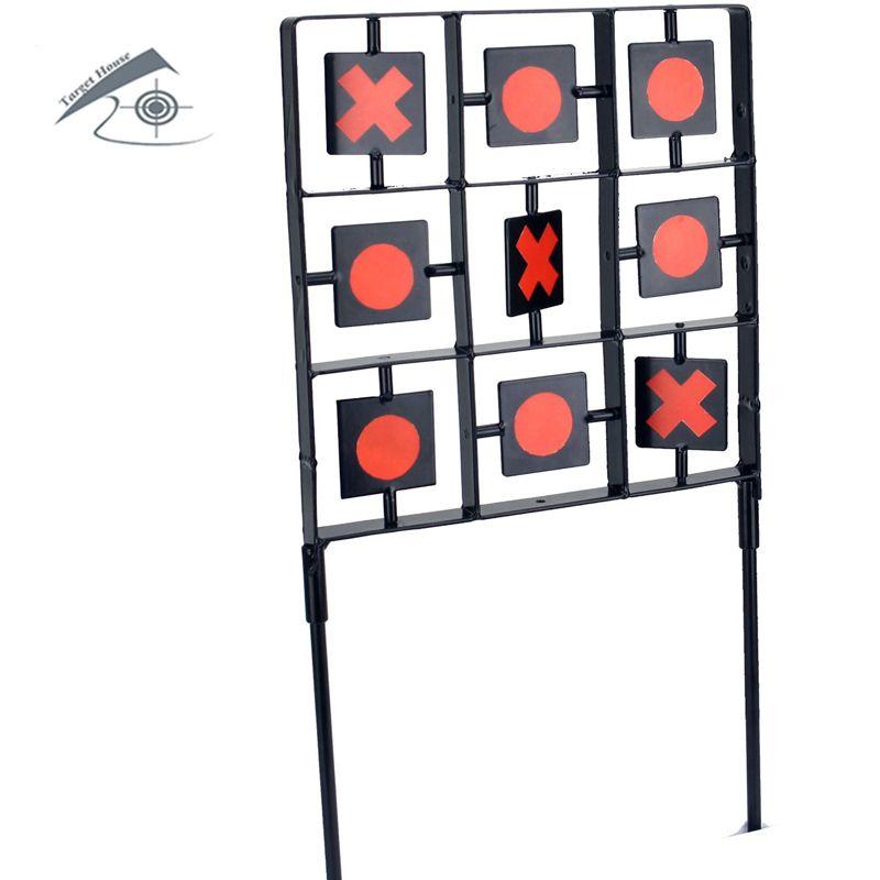 Tic Tac Toe Größe Ziel Luftgewehr Pellet Zielauch Für