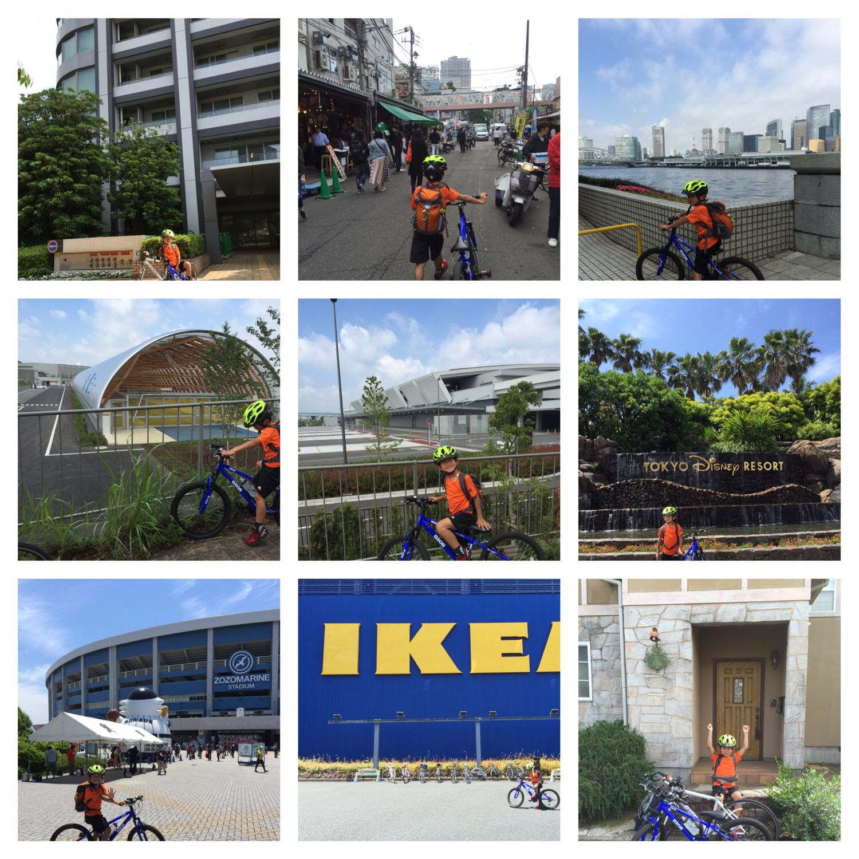 新谷 淳さんがinstagramで写真写真10件件を投稿しました 小学2年の息子と月1恒例の長距離サイクリング 朝8時30分に東京 汐留を出て千葉 外房の週末ハウスに15時30分に到着 途中ikeyaにて1時間30分程 ランチタイム Gwと同様の約90kmのコースでしたが今日は暑かっ