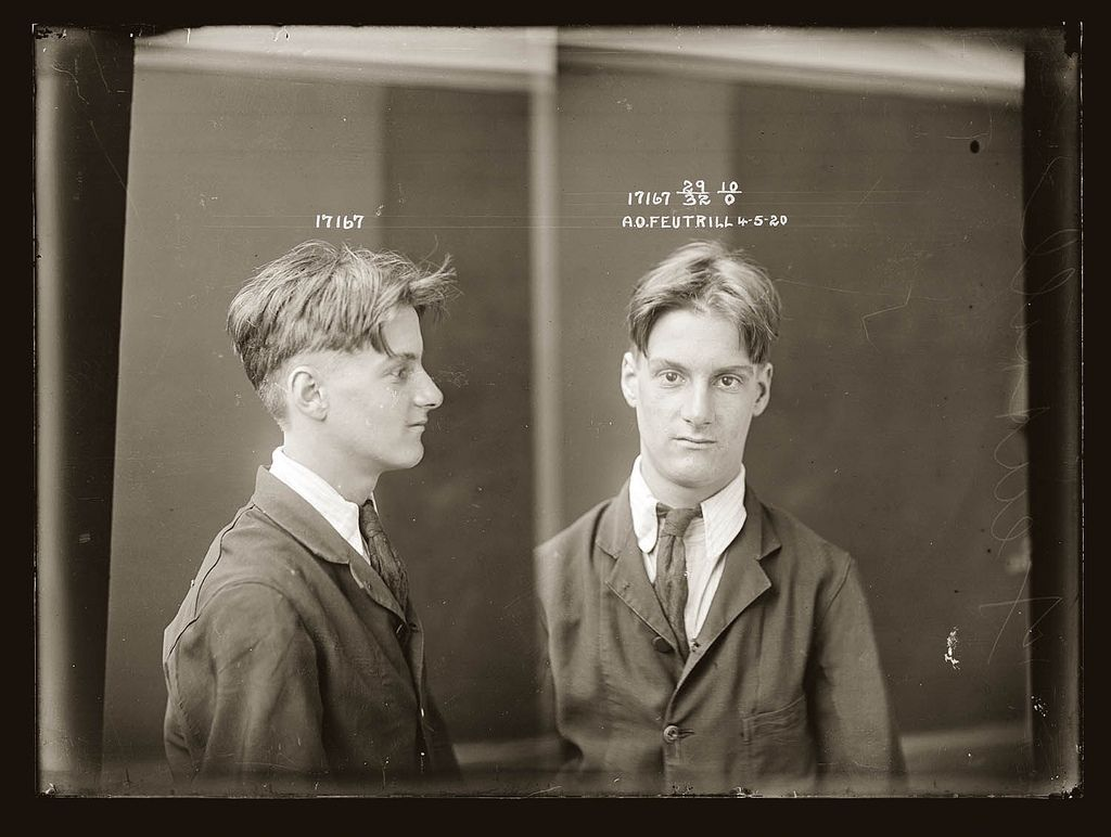 Sydney Police City Of Shadows Portrait Vintage Portraits Annees 1920