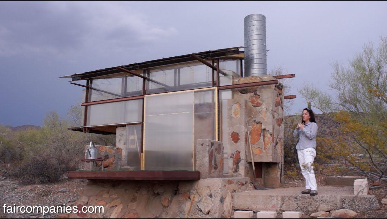 Survivalist Tiny Dorms At Frank Lloyd Wright S Taliesin