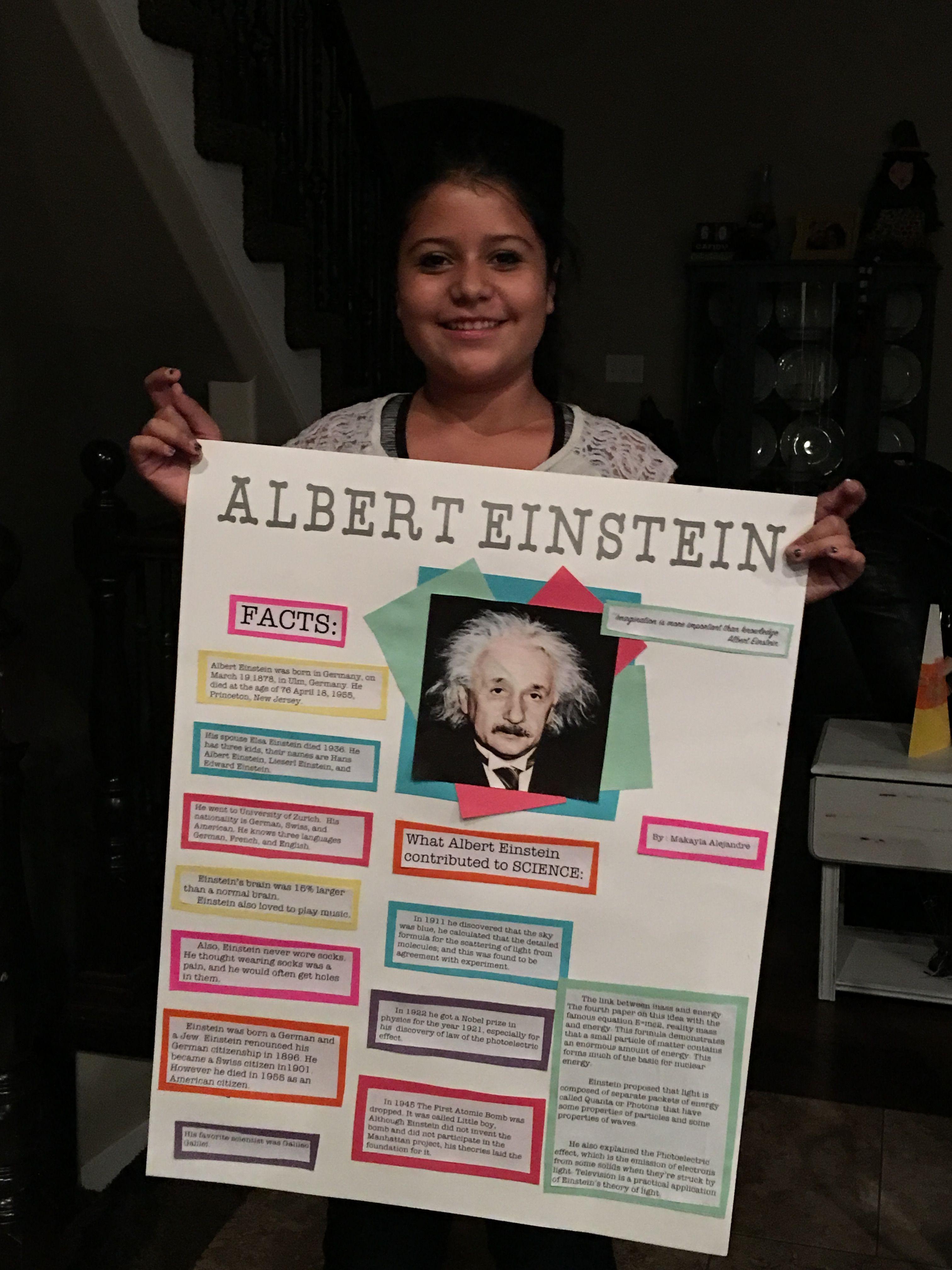 Albert Einstein School Projects