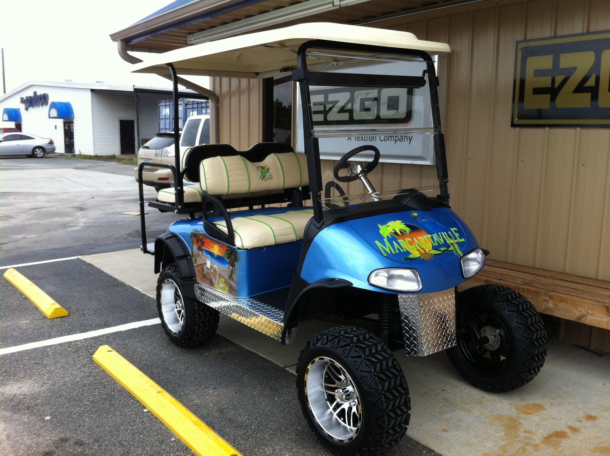 Margaritaville Golf Carts For Sale Effingham Evans Custom ...  |Margaritaville Golf Cart Craigslist