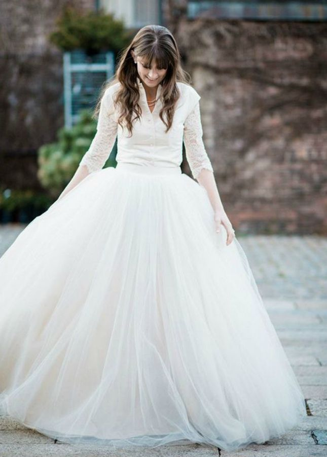 20 Long-Sleeved Wedding Dresses | Long sleeved wedding dresses ...
