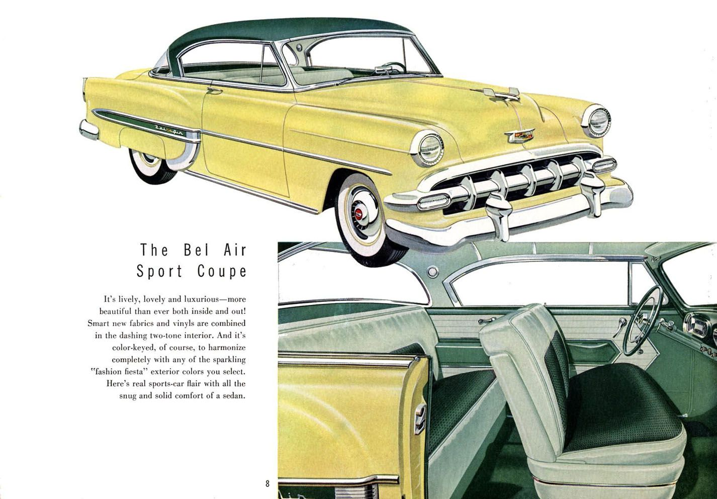 1954 Chevy Bel Air Ad