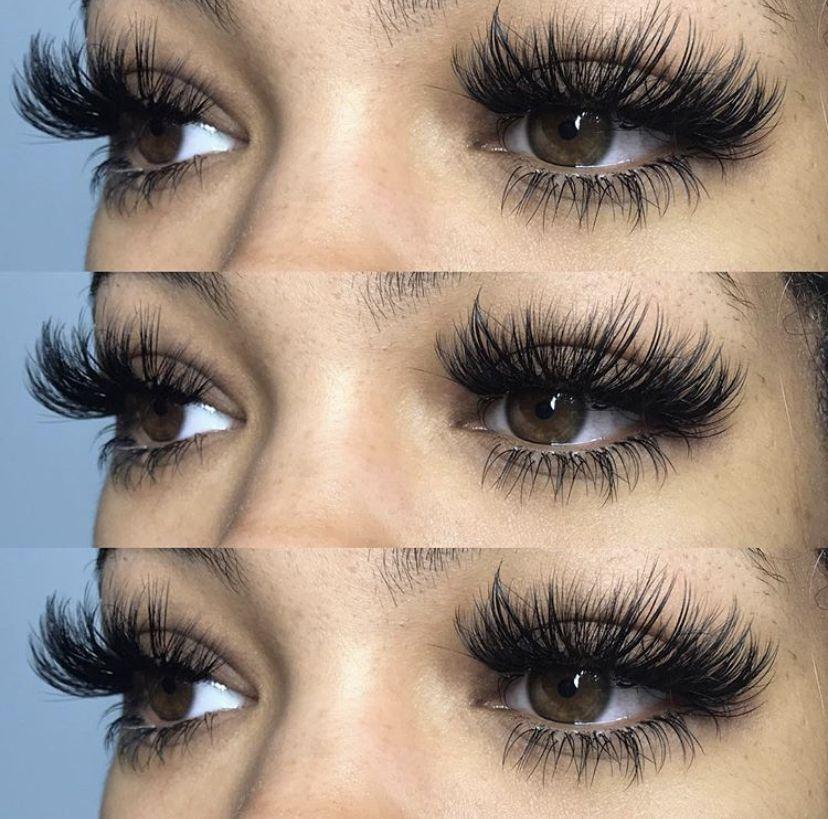 EyeLashesExtensions in 2020 Makeup eyelashes, Lashes
