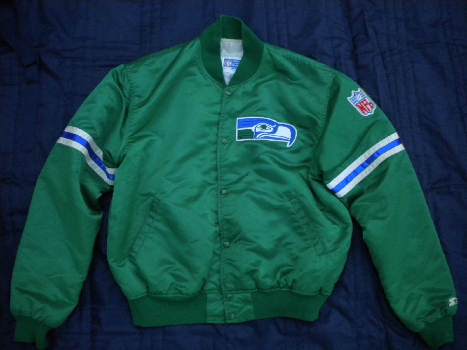 f074da44 Pin by Nate Sperka on retro | Seattle seahawks, Seahawks, Jackets