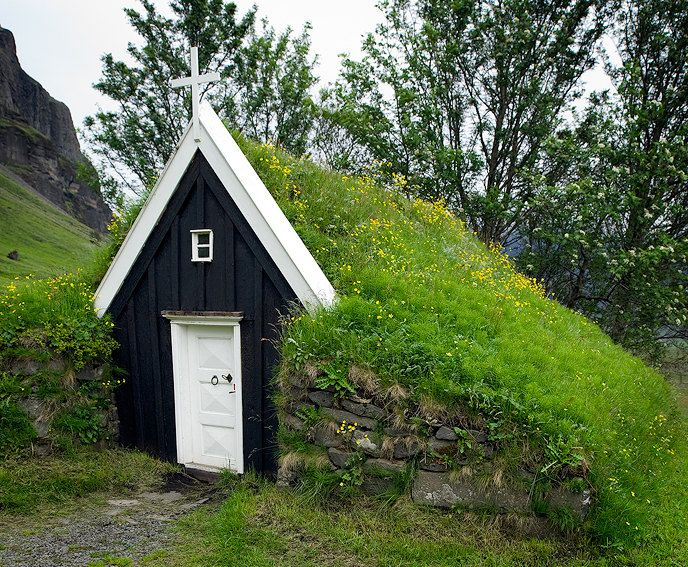 Smallest Tree House In The World iceland's smallest church | places | pinterest | churches, iceland