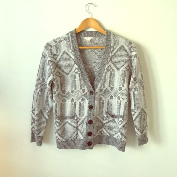 Forever 21 tribal sweater size small Size small. Grey. Barely worn. Forever 21 Sweaters Cardigans