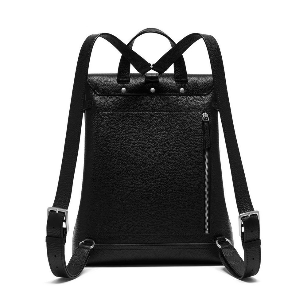 c4b536cfa7 Shop the Chiltern Backpack in Black Leather at Mulberry.com. The Chiltern  collection puts