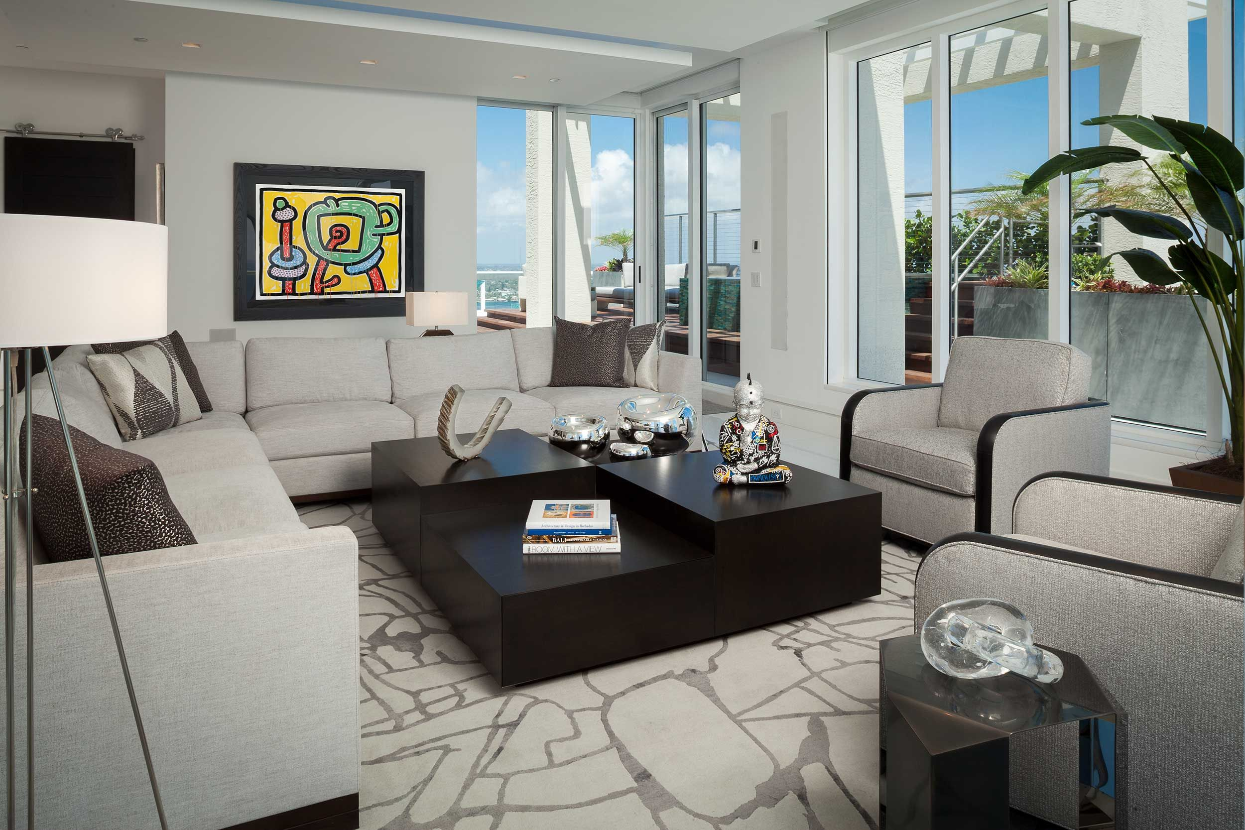 Rogers Design Group Luxury, Modern And Contemporary Living Room Best