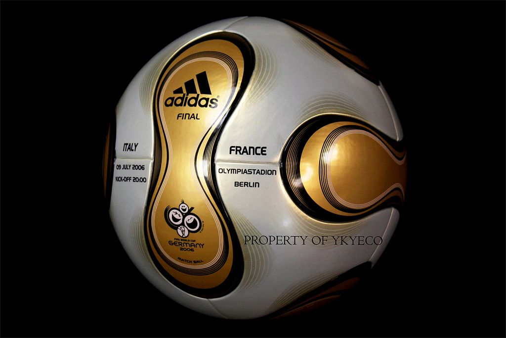 Teamgeist Berlin Official Fifa World Cup Germany 2006 Final Adidas Match Ball With Imprint Italy Vs France World Cup Match Fifa World Cup World Cup