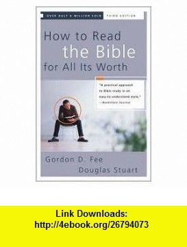 How to read the bible for all its worth 3th third edition text books fandeluxe Choice Image