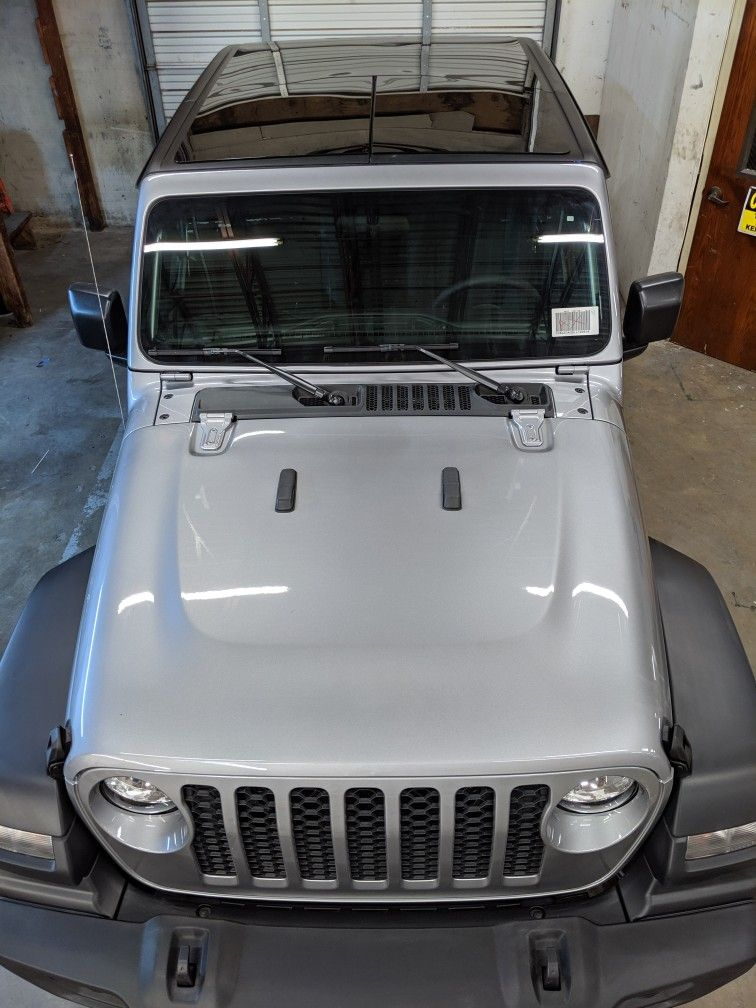 2018 2020 Jeep Wrangler Jl Gladiator Panoramic Hardtop Sunroof Accessories Free Shipping In Usa Jeep Gladiator Jeep Gladiator