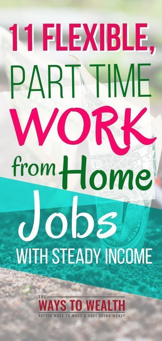 23 Work-At-Home Jobs with a Steady Income #workathome