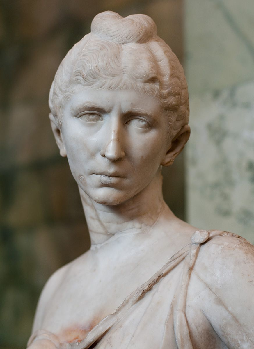 Ancient Roman Hairstyles and Headdresses from