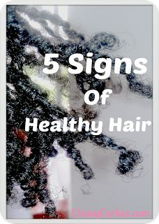 Your source for natural hair and beauty care: Natural Hair Care: 5 Signs of Healthy Hair #naturalhaircare