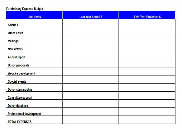 fundraising order document free download1 events in 2018 sample