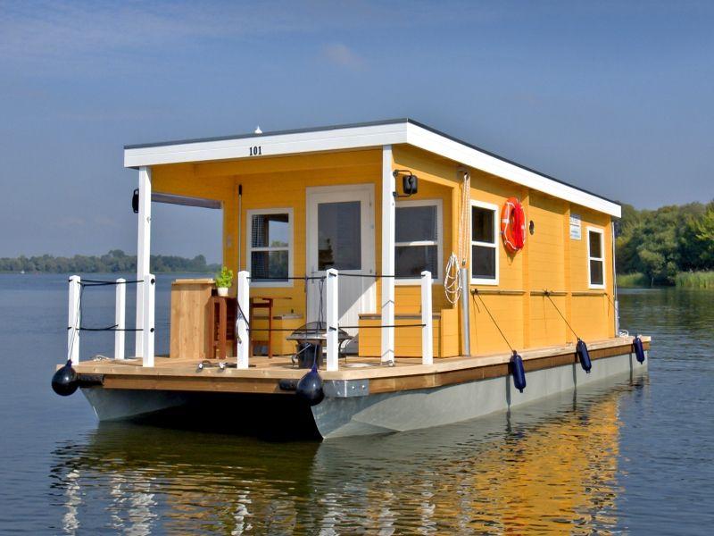 Hausboote Hausboot wohnen, Hausboot, Ostsee urlaub