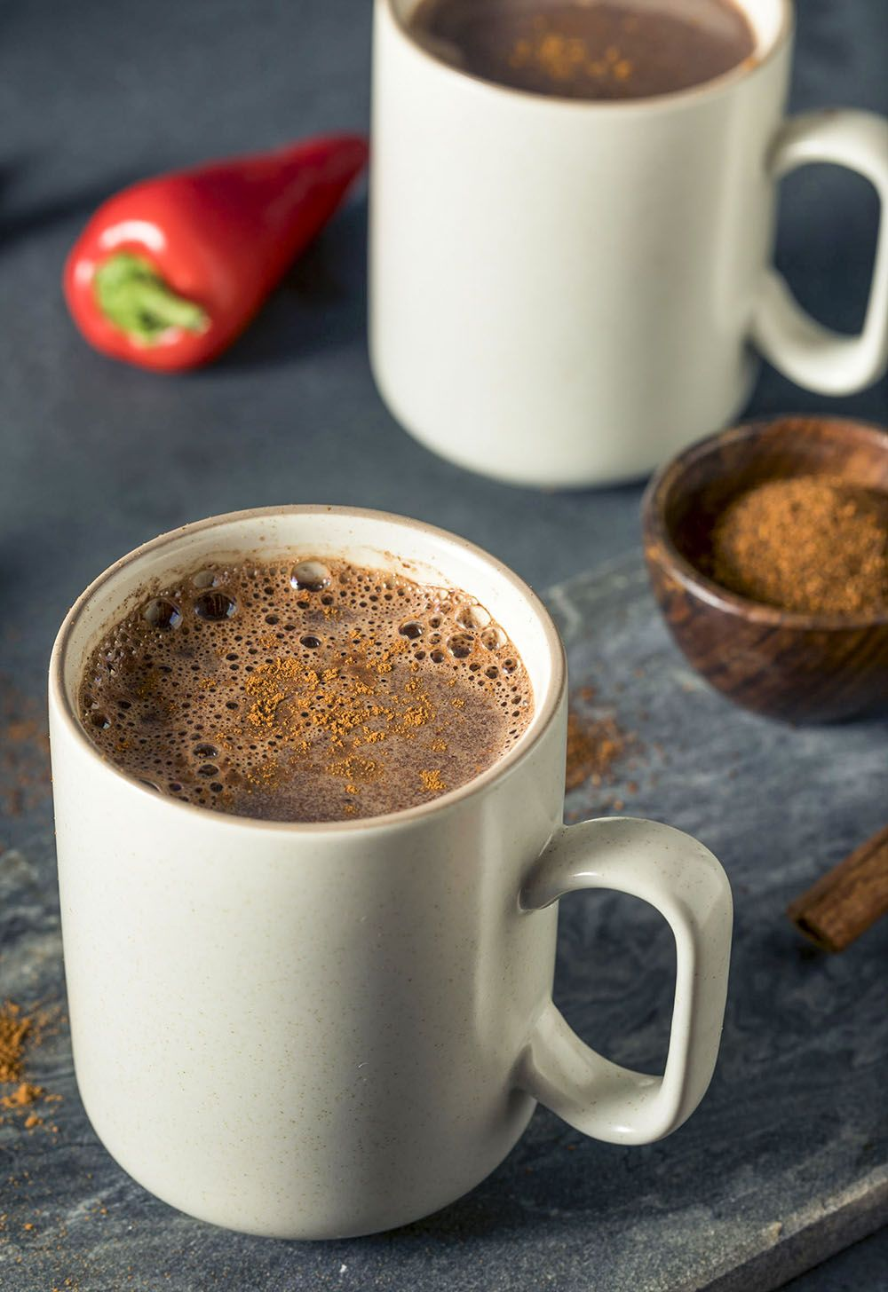 Simple ingredients of cinnamon, coffee, and brown sugar
