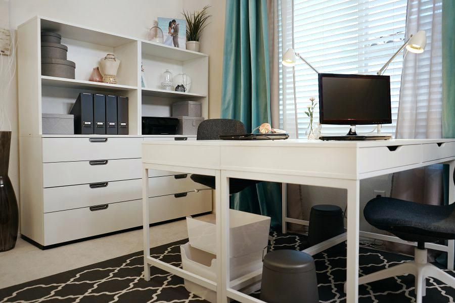 Ikea Kitchen Home Office Hack Google Search Ikea Home Tour
