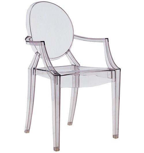 Sedia Louise Ghost di Philippe Starck per Kartell   home decor ...