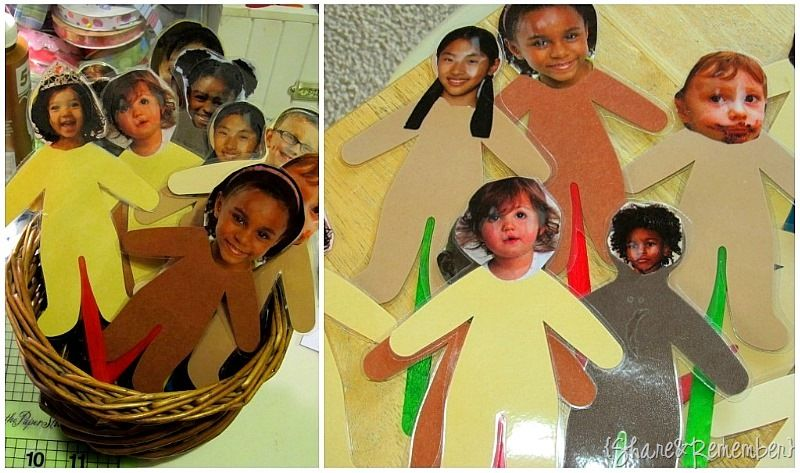 Multi-Colored but all the same MLK craft! | Preschool ...