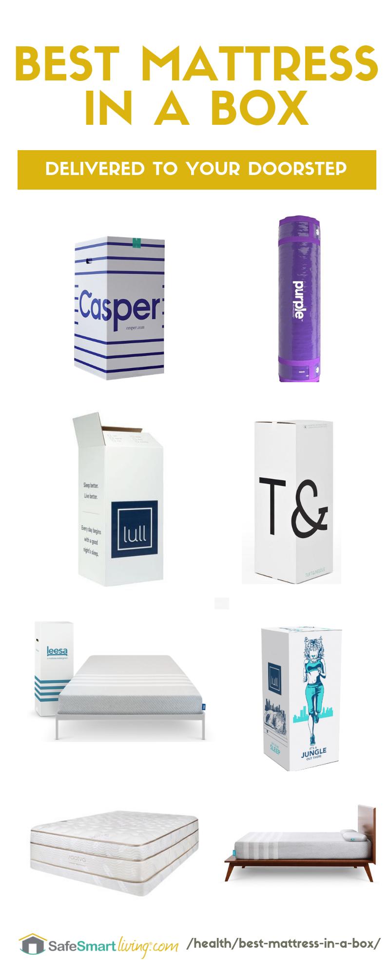 Best Mattress In A Box Saatva Vs Leesa Vs Casper Vs Purple More Online Mattress Box Bed Mattress Cleaning