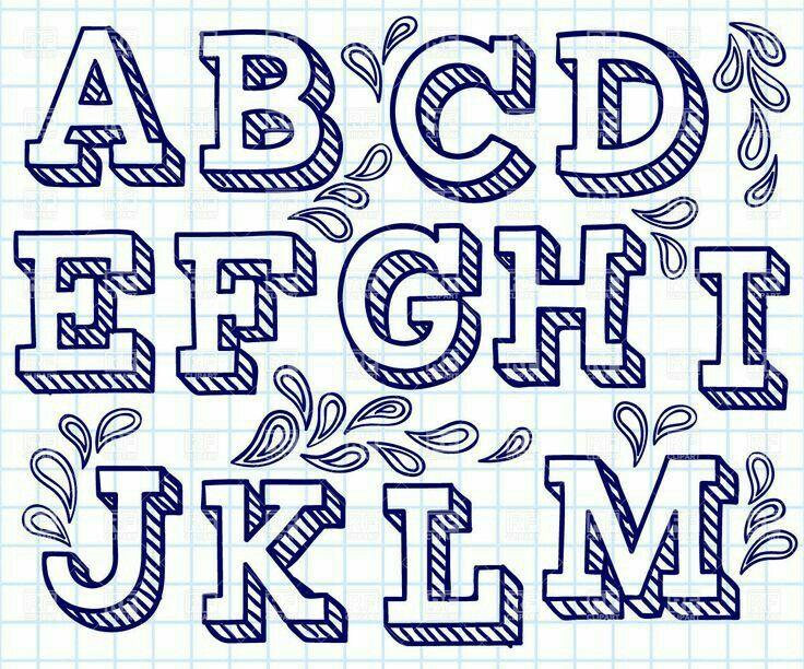 Pin By Melissa Platt On 3d Lettering Pinterest Hand Lettering