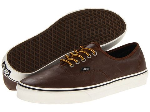 f689504972be59 Vans Authentic™ (Hiker) Leather Bison - Zappos.com Free Shipping BOTH