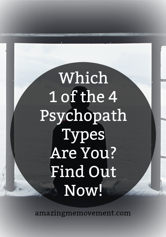 Everyone Fits Into 1 of These 4 Psychopath Types  Take the Test Now