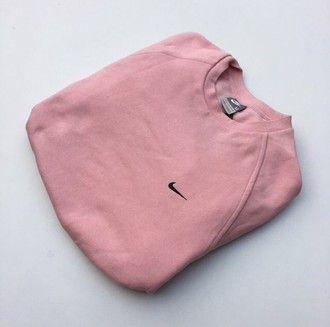 sudadera nike rosa