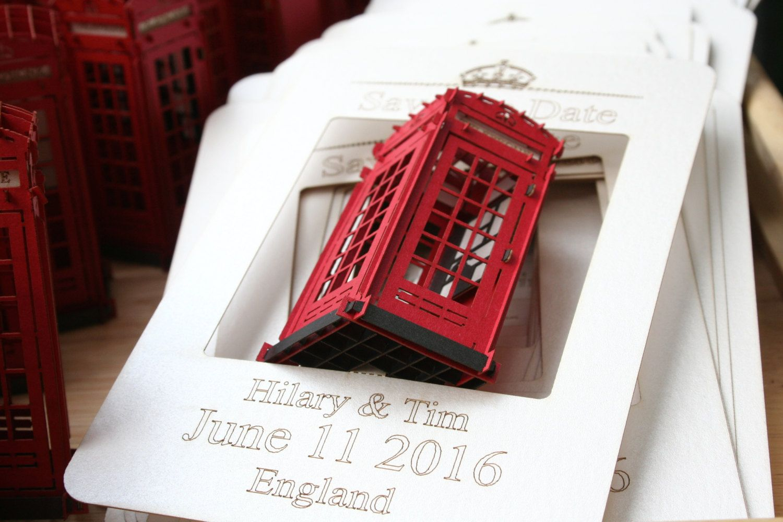 Save the Date wedding Wedding Invitation Cards Custom Wedding London ...
