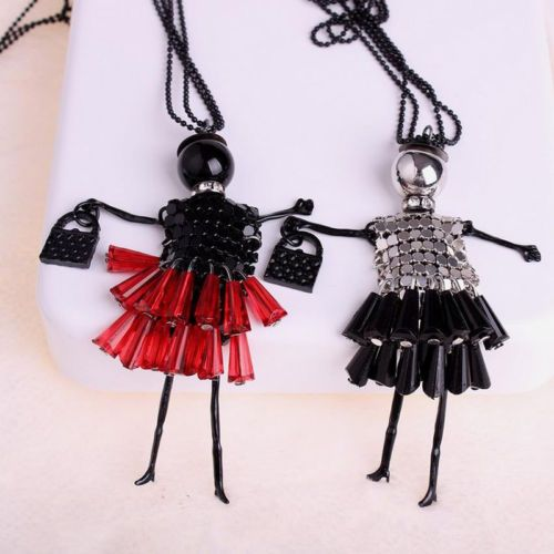 Fashion-Doll-Vintage-Sexy-Crystal-Long-Retro-Girl-Chain-Pendant-Women-Necklace