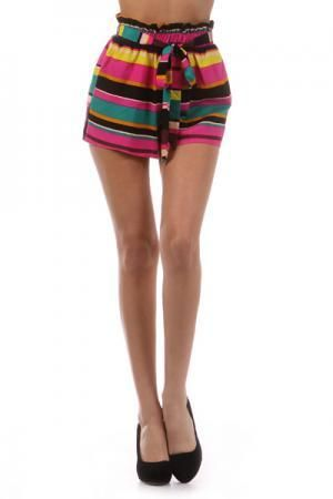 The Barcelona High-Waisted Shorts at Poetrie