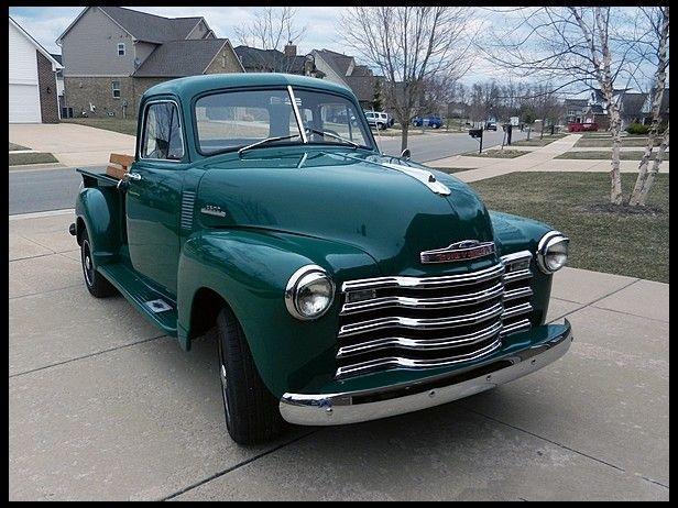 1952 Chevrolet 3600 Mecum Auctions 1952 Chevy Truck Chevrolet Chevy Trucks