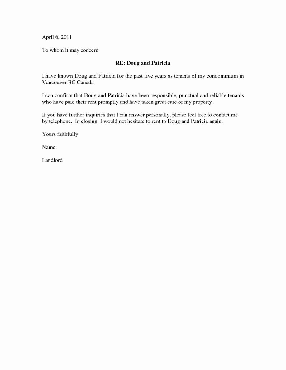 50+ Reference letter for apartment from employer trends